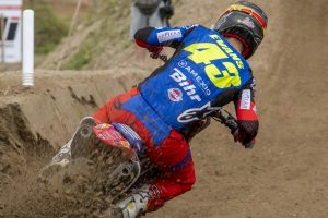 Evans shy of the podium in Mantova MX2 encounter