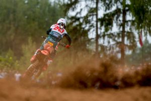 Gajser records fourth-consecutive victory at MXGP of Latvia
