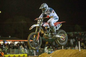 Budd 10th ix SX2 at Port Adelaide Supercross; Webster sidelined by injury