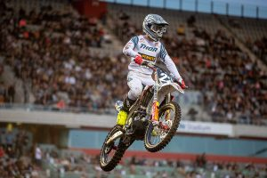 Webster marks SX2 return with 10th, Budd 13th in SX2 at Wollongong Supercross