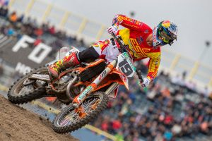 Prado breaks femur in preparation for rookie MXGP campaign
