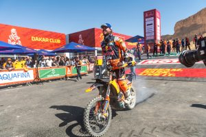 Dakar podium rewarding for Price after courageous campaign