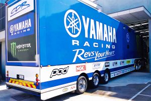 Watch: CDR Yamaha Monster Energy Team transporter tour