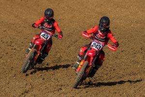 Team HRC re-signs Gajser and Evans in multi-year extensions